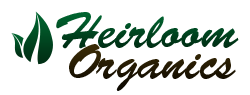 Heirloom Organics Non-Hybrid Seeds