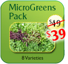 Home MicroGreens Pack