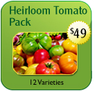 Non-Hybrid Tomato Lovers Pack