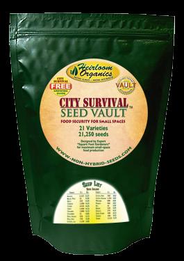 City Survival Seed Vault
