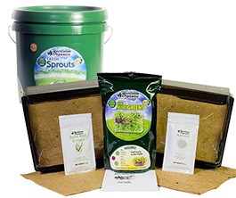 MicroGreens Kit & Sprout