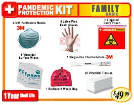 Family Basic Pandemic Protection Kit