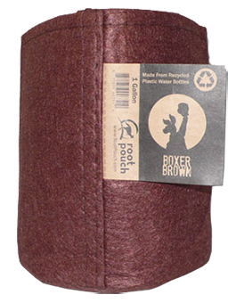 1 Gal. Boxer Brown Root Pouch / 5 pk.