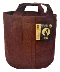 5 Gal. Boxer Brown Root Pouch / 5 pk.