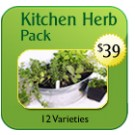 Family Kitchen Herb Pack $39