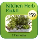 Professional Kitchen Herb Pack $59