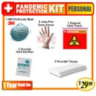 Personal Basic Pandemic Protection Kit