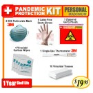 Personal Maximum Pandemic Protection Kit
