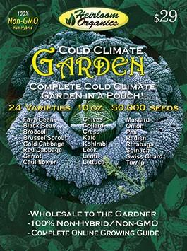Cold Climate Garden