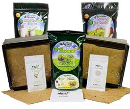 MicroGreen Kit, Professional Kitchen & Herbal Tea