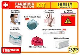 Family Advanced Pandemic Protection Kit